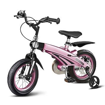 QXMEI Marco De Aleación De Magnesio De Bicicleta Infantil 12/14/16 Pulgadas Niños