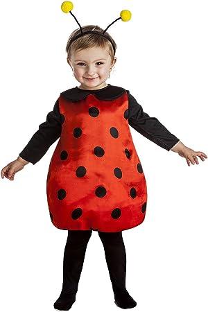 Disfraz de Mariquita Infantil (1-2 años): Amazon.es: Juguetes y juegos