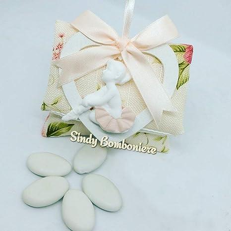 Sindy Bolsa decorado flores Bomboniere Comunión Confirmación ...