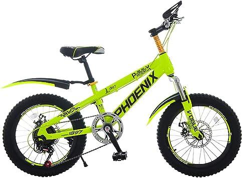 MLSH Bicicletas para niños, Bicicletas de 18 para Exteriores ...