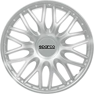 Sparco SPC1496SV Set Wheel Covers Roma 14-inch Silver