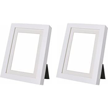 Ikea ribba 5x7 picture frame white set of 2 for Ikea ribba plank