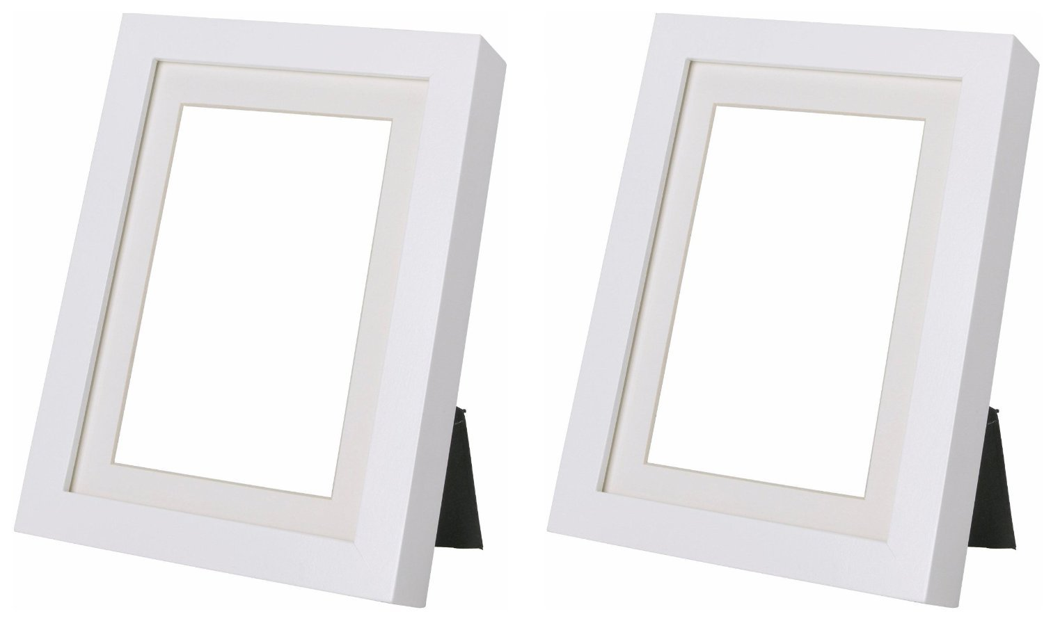 amazoncom ikea ribba 5x7 picture frame white set of 2