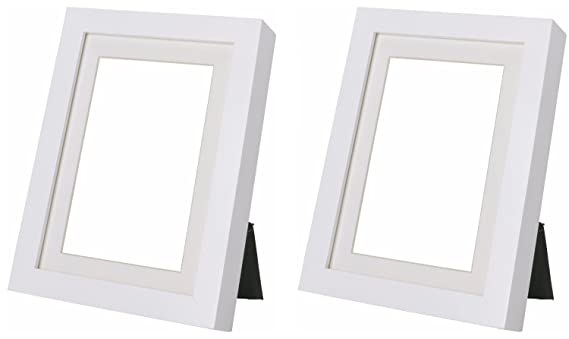 Amazon.com - Ikea Ribba 5x7 Picture Frame. White. Set of 2 -