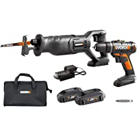 Deals on WORX WX946L 20V Drill Driver & Reciprocating Saw