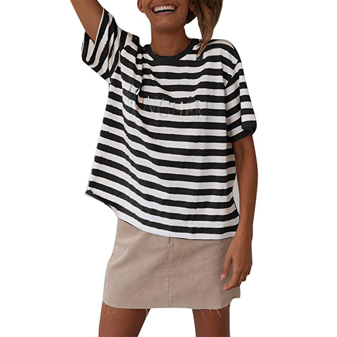 Vectry Camisa Casual Mujer Blusas de Mujer de Moda 2019 ...