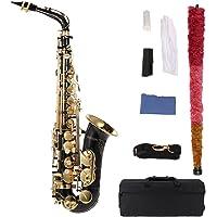ammoon bE Alto Saxofon Latón Lacado Oro E