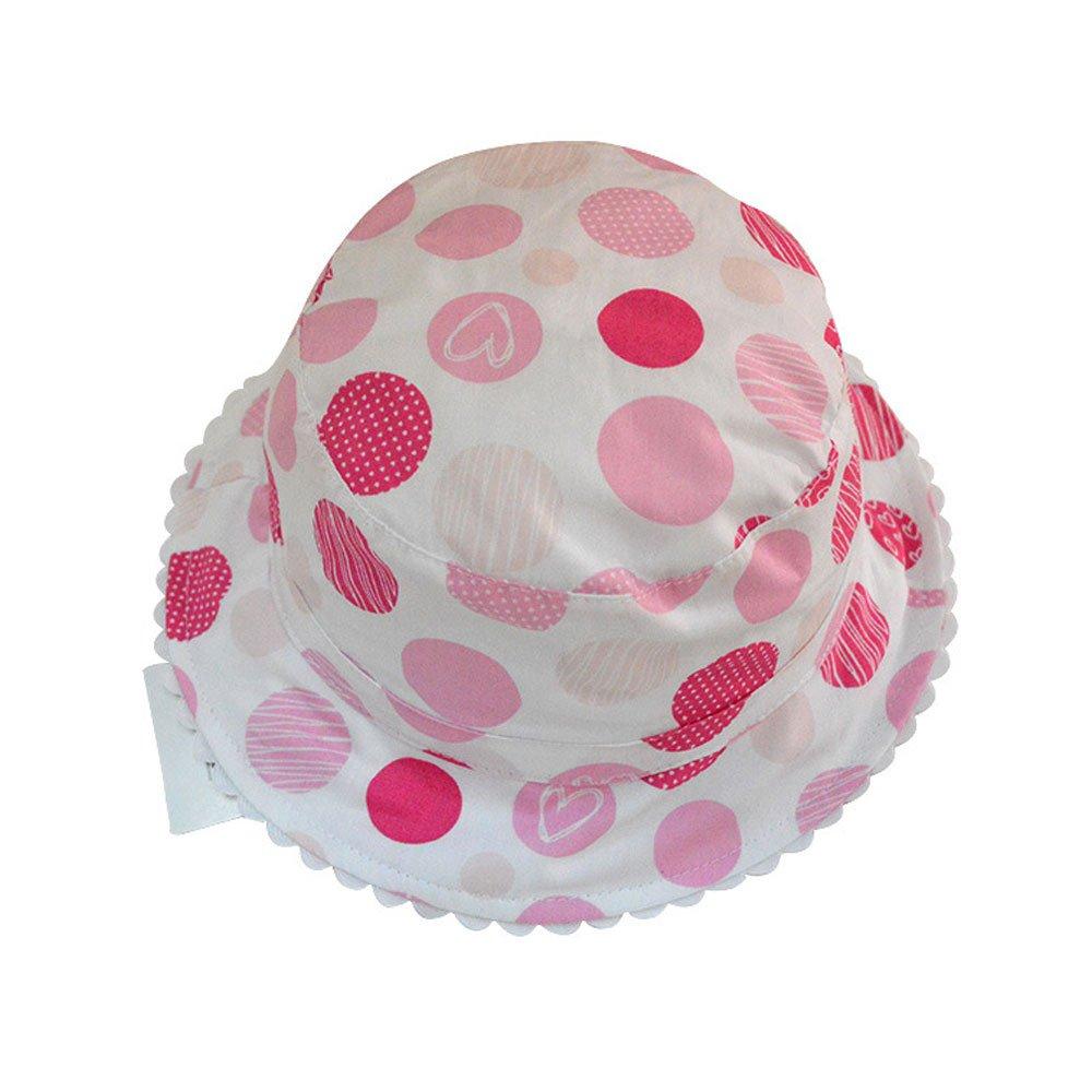 Amazon.com  Tou Kid Little Girls Summer Flower Hats Baby Girls Sun Hats  100% Cotton 0-6t  Clothing 25a927488af
