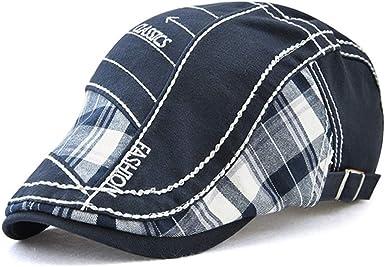 Tioamy Boinas para Hombre Sombreros Gorras Boinas Gorra de ...