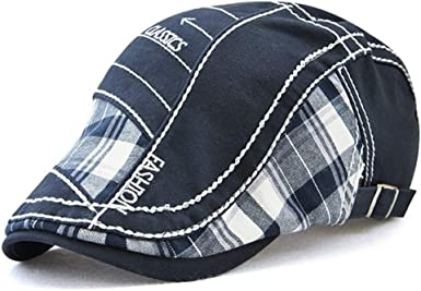 Sombrero de Pico de Pato de algodón Tapa Plana Taxista la Tapa ...