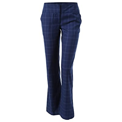 7Encounter Women's Flat Front Ankle Pants