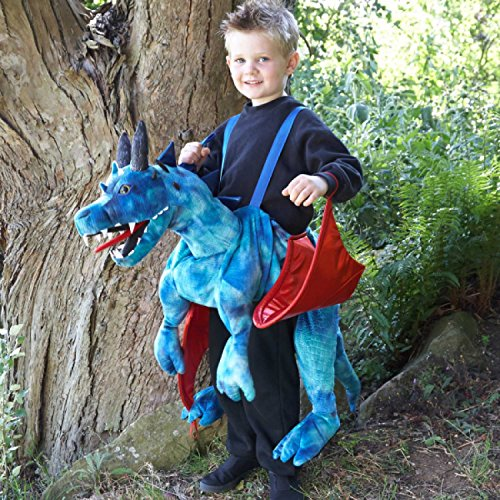 Childs Ride On Dragon Fancy Dress Mythical Animal Costume by Travis -