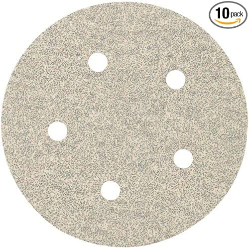 PORTER-CABLE 735511010 5-Inch Hook and Loop Exp 5 Hole 100G Disc 10-Pack