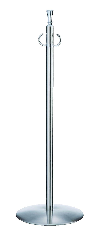 シロクマ フロアパーティションポール クローム/鏡面 1本  FPP-1253  B00HTUKW7A