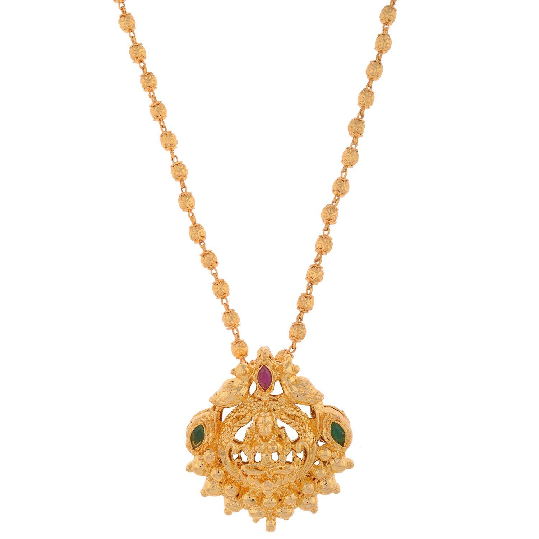 Diamond St Christopher Necklace