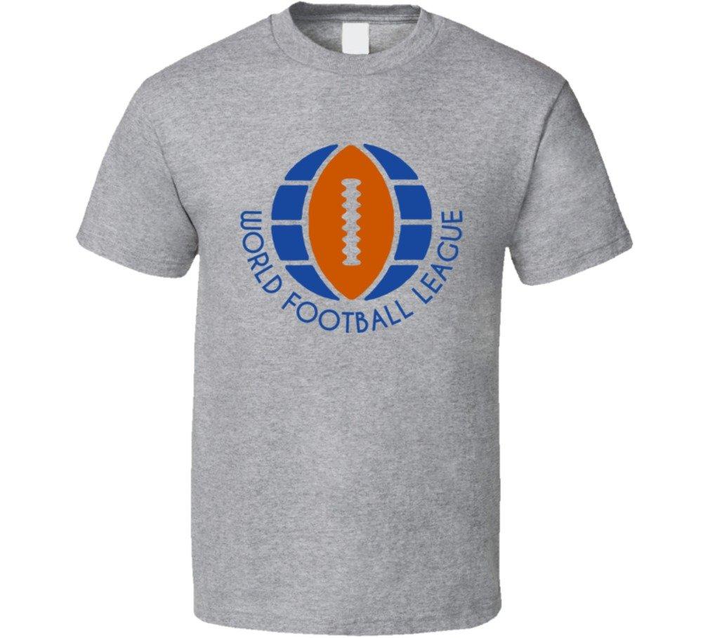 World Football League Retro Football T Shirt 2958