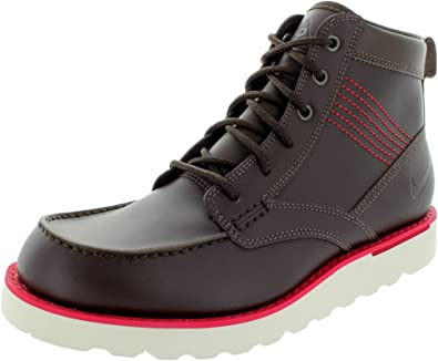 lado tifón Preceder  Amazon.com: Nike ACG – Kingman Mens de piel botas todas las condiciones  Gear 525387 226 Senderismo Zapatos Zapatillas, Marrón: Shoes