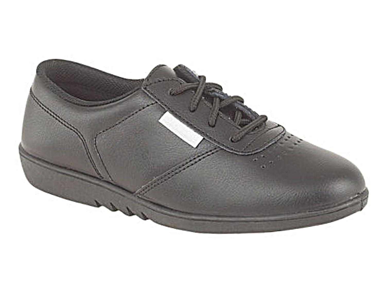 Foster Footwear Zapatos de Vestir Chica Mujer, Color Negro, Talla 36.5