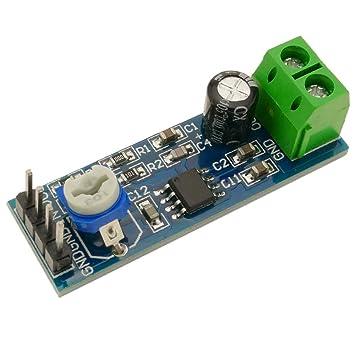 BeMatik - Circuito Integrado de Amplificador de Audio LM386. Modelo DW-0860