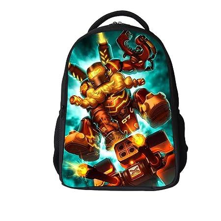 YHJ backpack Mochila Escolar para Niños Anime 3D Overwatch ...