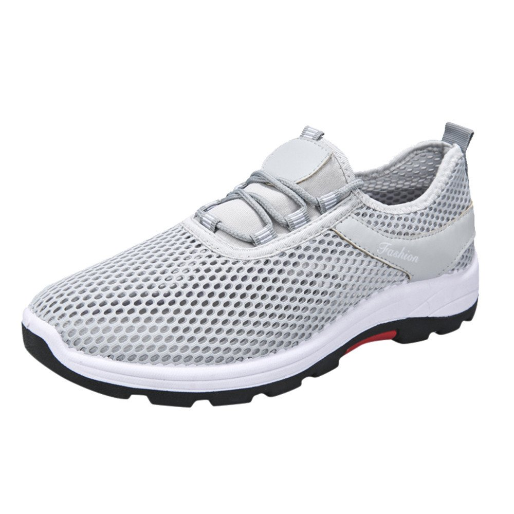 Unisexe Femmes Hommes Chaussures, Yesmile Mesh Casual Gris Sneakers Sport Courir Chaussures, Respirant Bretelles Mesh Chaussures Gris 5760aa8 - gis9ma7le.space