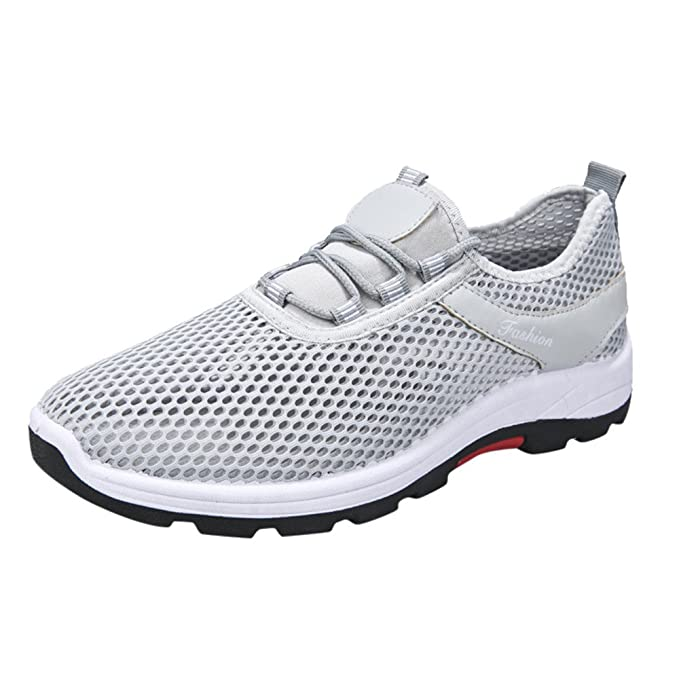 ❤ Zapatillas de Deporte para Unisex, Mujer Hombre Zapatillas de Deporte Casual Deportes Correas de Malla Transpirable Zapatos de Malla Absolute: ...