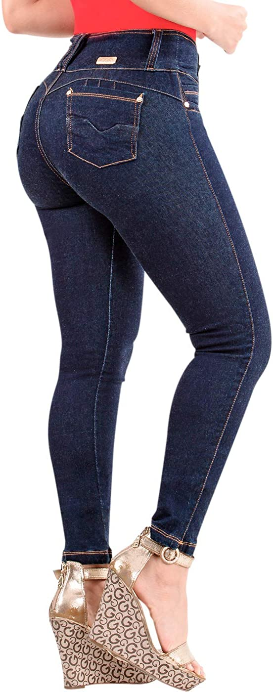 Lt Rose Womens Butt Lifter Skinny Colombian Jeans Colombianos Levanta Cola Mujer At Amazon Women S Jeans Store
