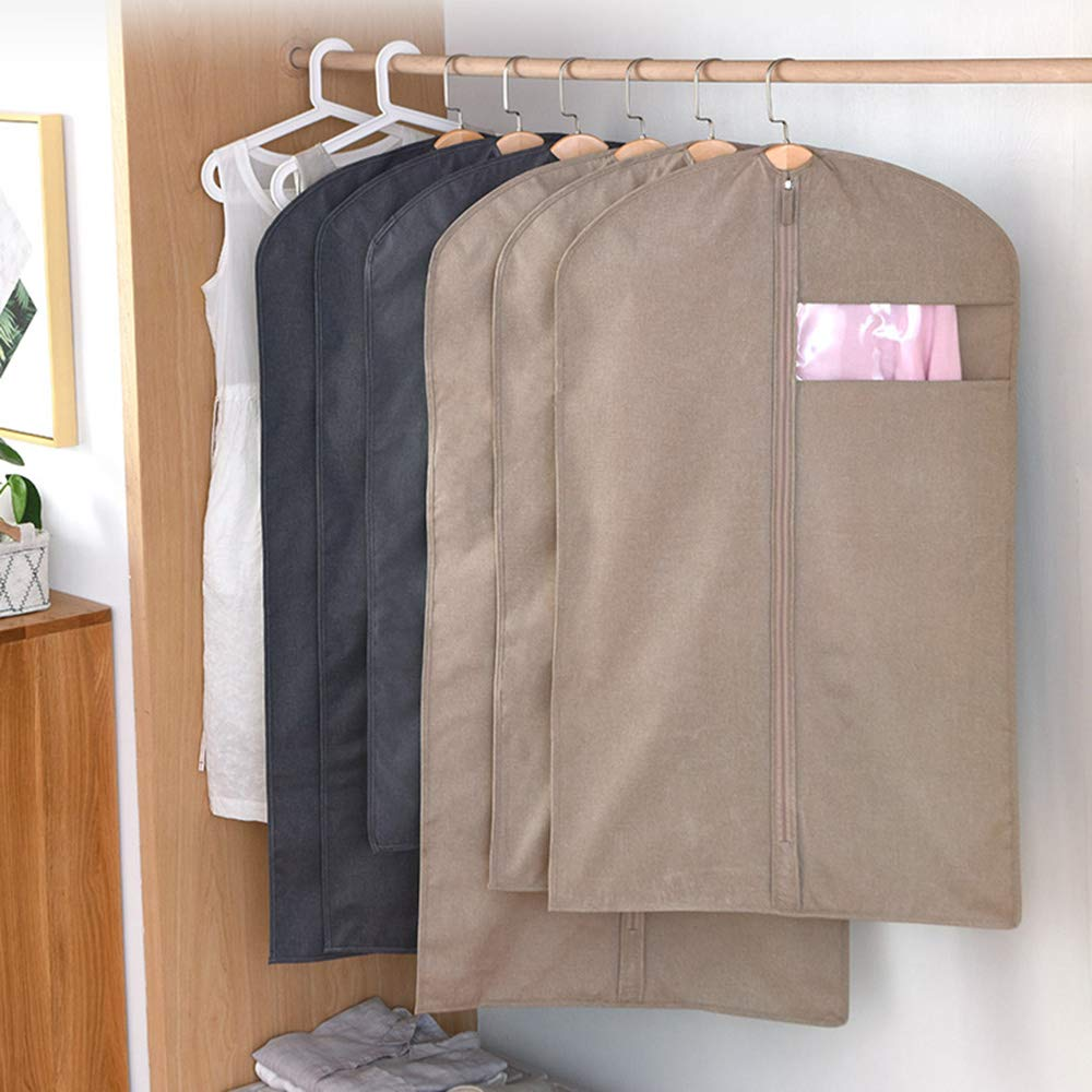 Amazon.com: Gaoxu - Fundas para ropa Hakn (polietileno, 22.8 ...