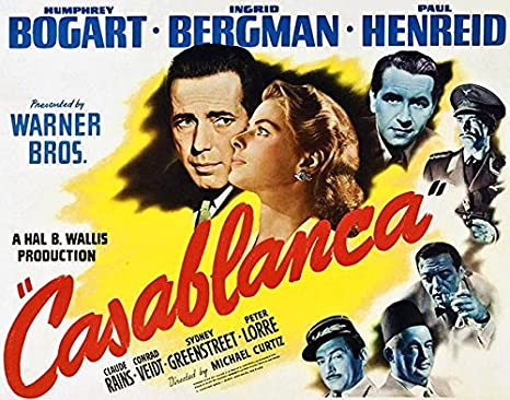 Amazon.com: Casablanca - 1942 - Movie Poster: Posters & Prints
