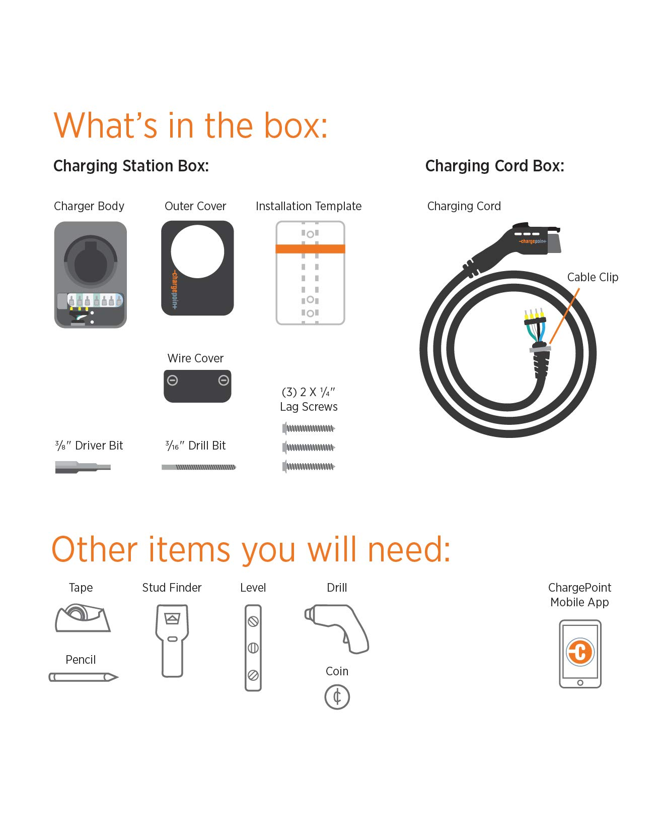 ChargePoint Home WiFi Enabled Electric Vehicle (EV) Charger - Level 2 240V EVSE, 32A Electric Car Charger for All EVs, UL Listed, ENERGY STAR Certified, Hardwired (no outlet needed), 18 Ft Cable by ChargePoint (Image #9)