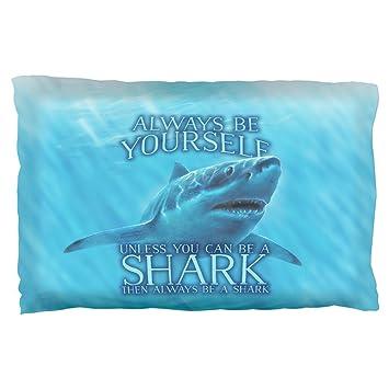 Old Glory Immer Sei Du Selbst, Wenn Weißer Hai Kissen Fall Multi Standard  Einheitsgröße