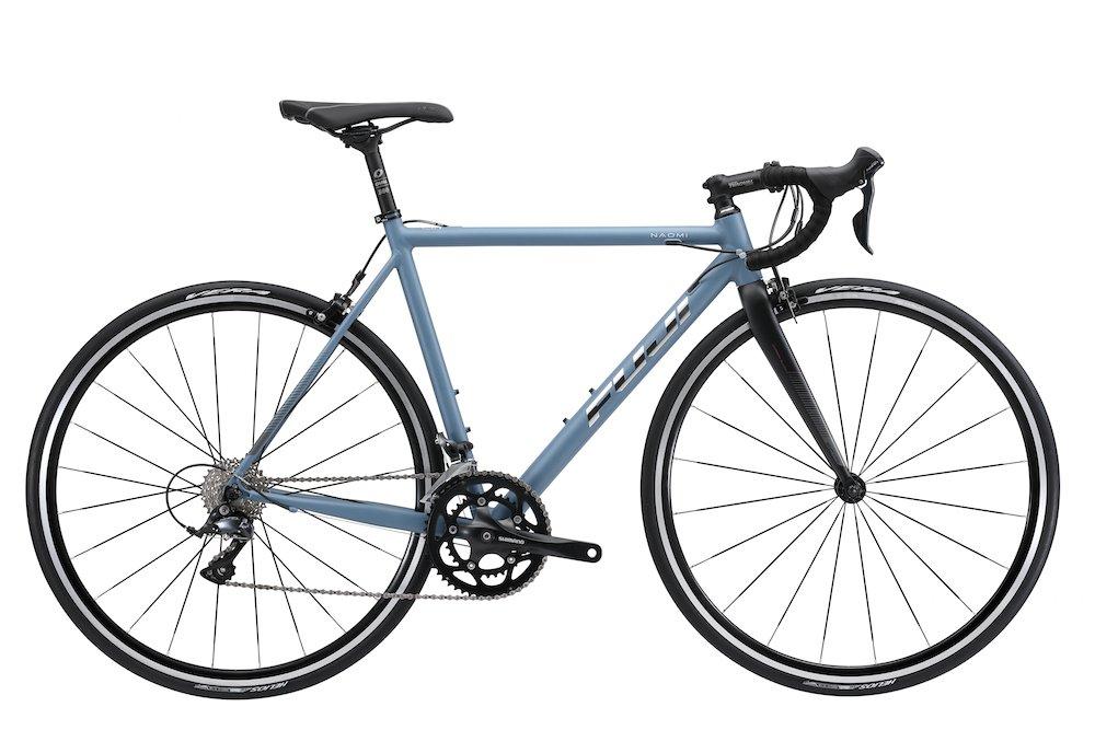 FUJI(フジ) NAOMI 56cm 2x9speed MATTE GRAY/BLUE ロードバイク 2018年モデル 18NAOMGY MATTE GRAY/BLUE 56cm B075SZBJZG