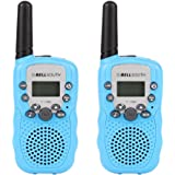 leegoal Walkie Talkies for Kids, 22 Channel Walkie Talkies, 3 Mile Range, Built in Flash Light,Toys for 3-12 Year Old Boys and Girls, Best Gifts for Birthday