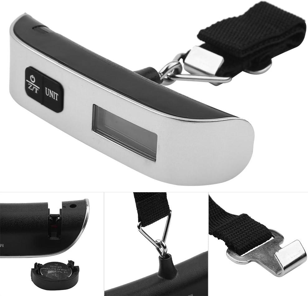 Voyage Portable P/èse Bagages /à main lev/ée /électronique /écran LCD Digital Balance de voyage pour bagages Valise Sac cadeau
