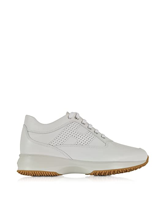 951d13ac2b06 Hogan - Zapatillas para Mujer Blanco Weiß IT - Marke Größe, Color Blanco,  Talla 41 IT - Marke Größe 41  Amazon.es  Zapatos y complementos