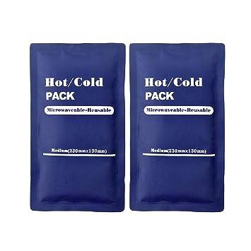 Amazon.com: LIOOBO 2 unidades de gel grande para hielo ...