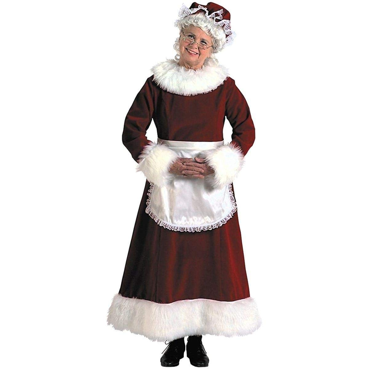 Disfraz de Mamá Noel: Amazon.es: Juguetes y juegos