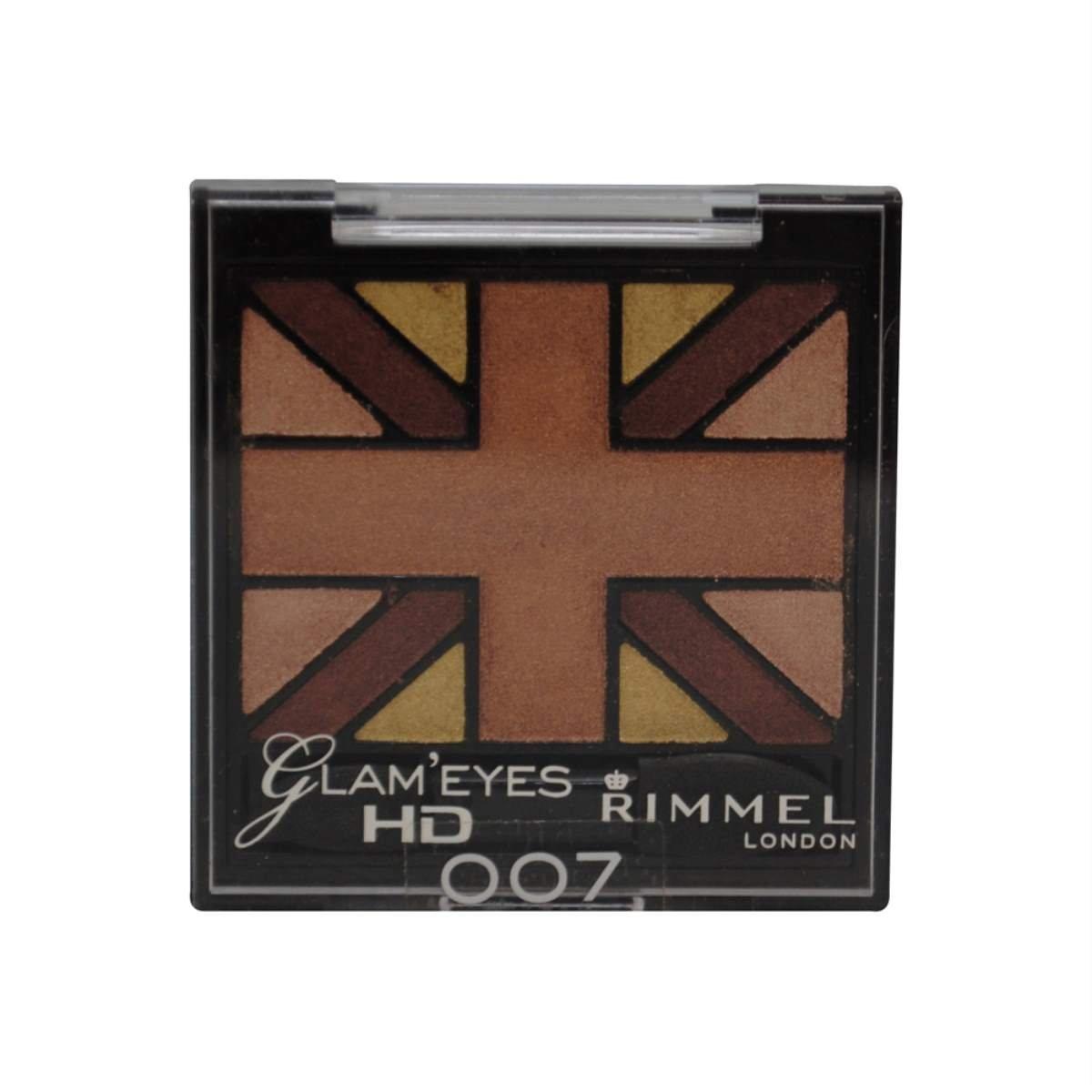 Glam'Eyes HD Quad Eyeshadow Palette - English Oak by Rimmel #14