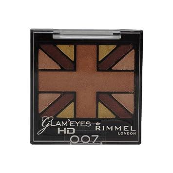Glam'Eyes HD Quad Eyeshadow Palette - English Oak by Rimmel #15