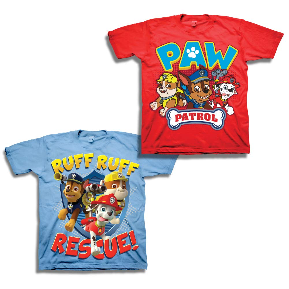 Frank Paw Patrol Official Gift Boys Kids Character T-shirt Rocky Chase Rubble Skye Fine Quality T-shirts, Tops & Shirts