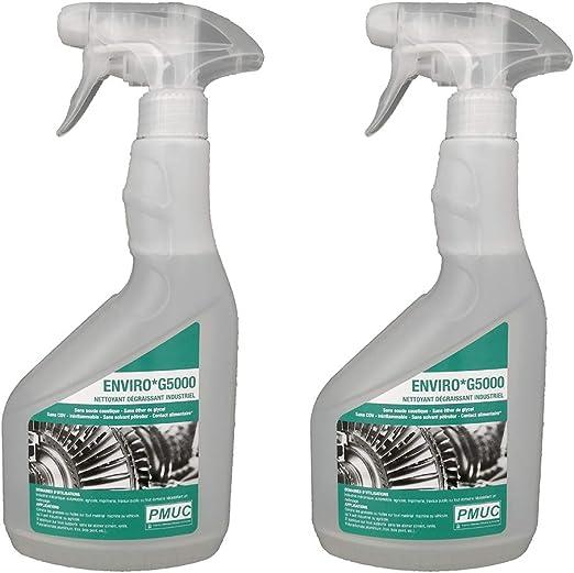 Enviro G5000: limpiador desengrasante industrial – sin ácido ...