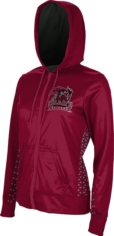 Geometric School Spirit Sweatshirt ProSphere Colgate University Girls Zipper Hoodie