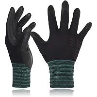 DEX FIT Nitrile Work Gloves FN320, 3D Comfort Stretch Fit, Power Grip, Durable Foam Coated, Thin & Lightweight Premium…