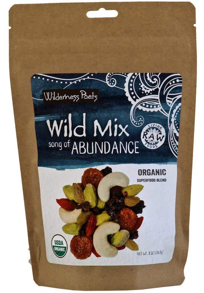 Wilderness Poets''Song of Abundance'' Wild Mix (Organic Raw Superfood Blend) 8 oz Bag