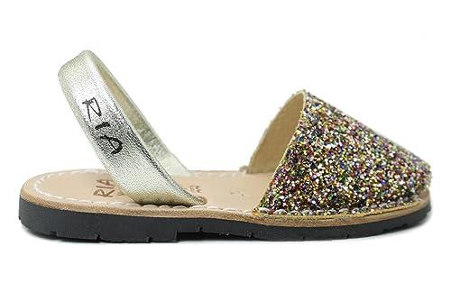 OroAmazon esY Niña Zapatos Menorquinas 21224 Ria Avarcas wZ0OPkXN8n