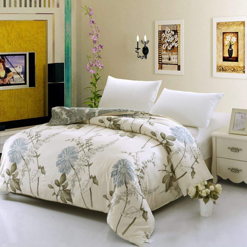 Yunyilian ベッドの裏地の綿のキルトカバーシングルピースカバー、シングルダブルベッドの項目 B07QMFG6SZ