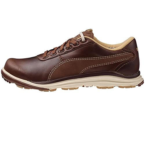 cf179a5729b953 PUMA BioDrive Leather Spikeless Golf Shoes 2016 Bison Brown Medium 7