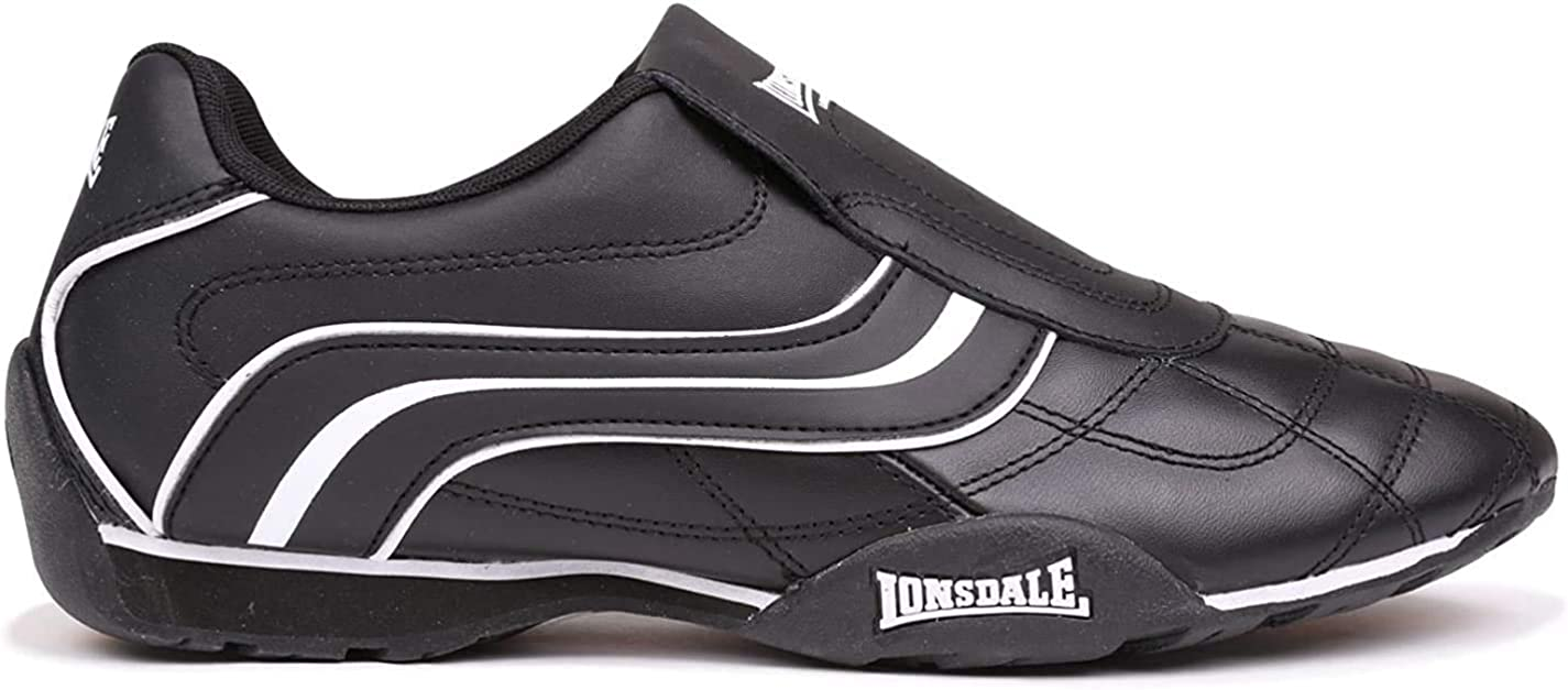 Lonsdale Mens Camden Slip On Trainers
