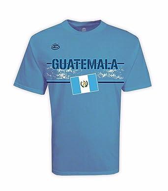 db221066c17f4 Guatemala Men s T-shirt Lite Blue 100% Cotton at Amazon Men s ...