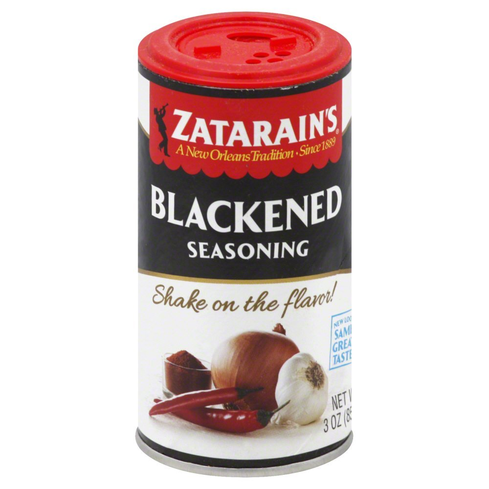 Zatarains Blackened Seasoning - 3 oz. shaker can, 12 per case